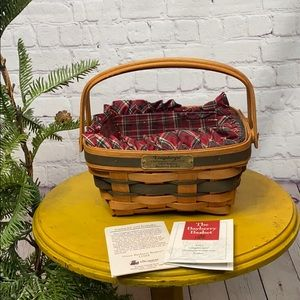 Longaberger Bayberry Basket christmas Collection